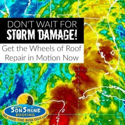 roof repair, hurricane damage, storm damage, sarasota roofing
