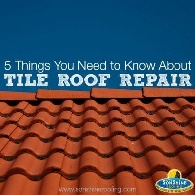 tile roof repair, sarasota, sonshine roofing, roofer, roofing contractor